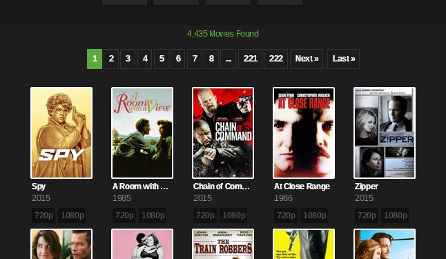 YIFY Torrent Movies – YTS Alternatives, ProxyMirror Websites